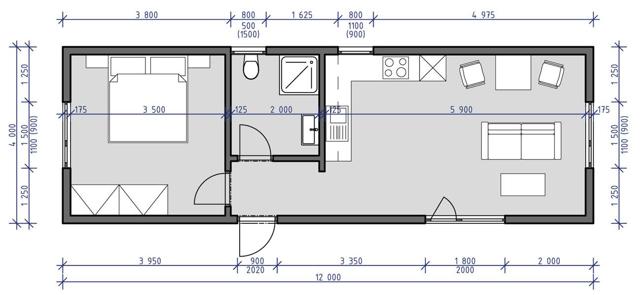 Mobilní dům Dita