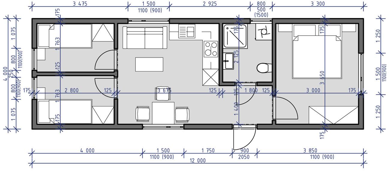 Mobilní dům Zara